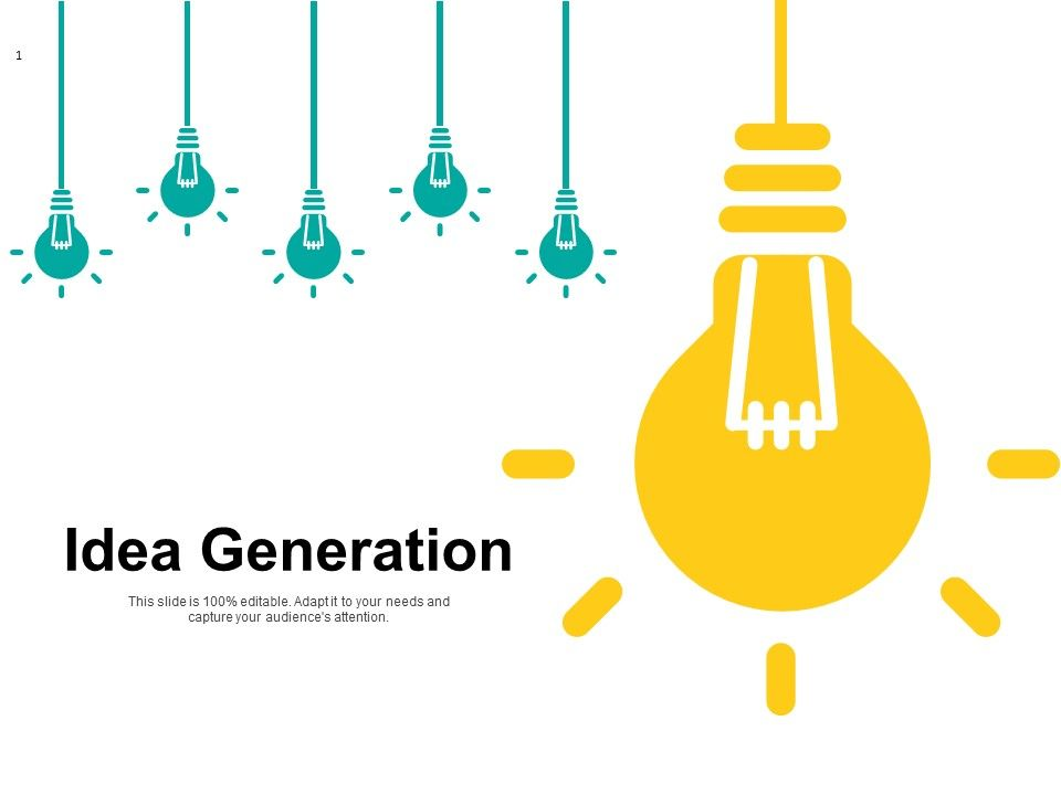 Idea Generation Bulb Innovation Ppt Powerpoint Presentation Pictures Grid