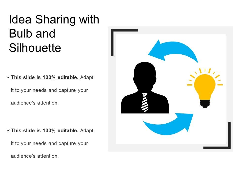 idea_sharing_with_bulb_and_silhouette_Slide01