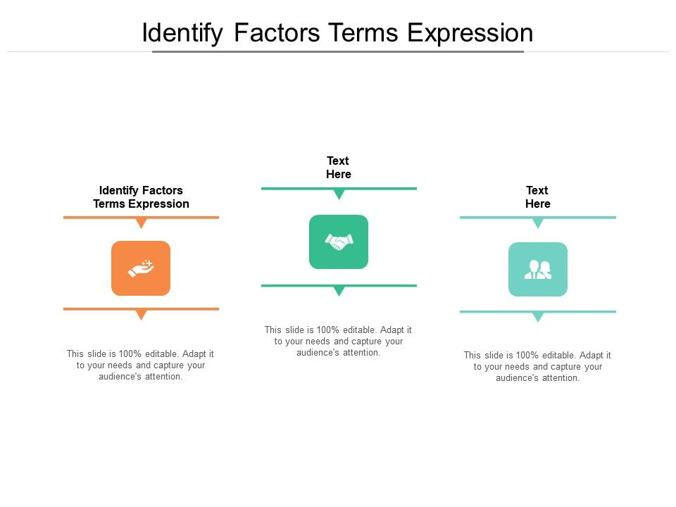 Identify Factors Terms Expression Ppt Powerpoint Presentation Styles Graphic Images Cpb