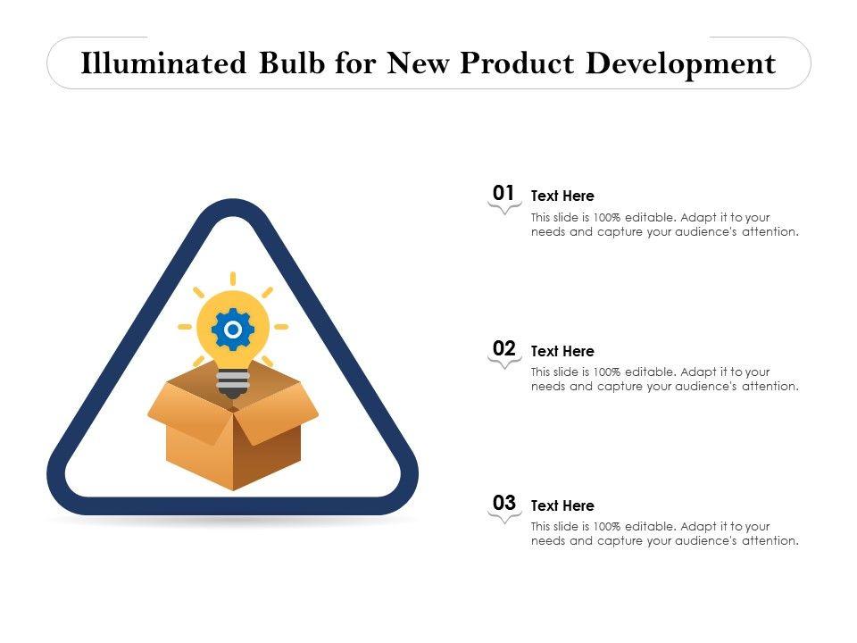 Illuminated Bulb For New Product Development