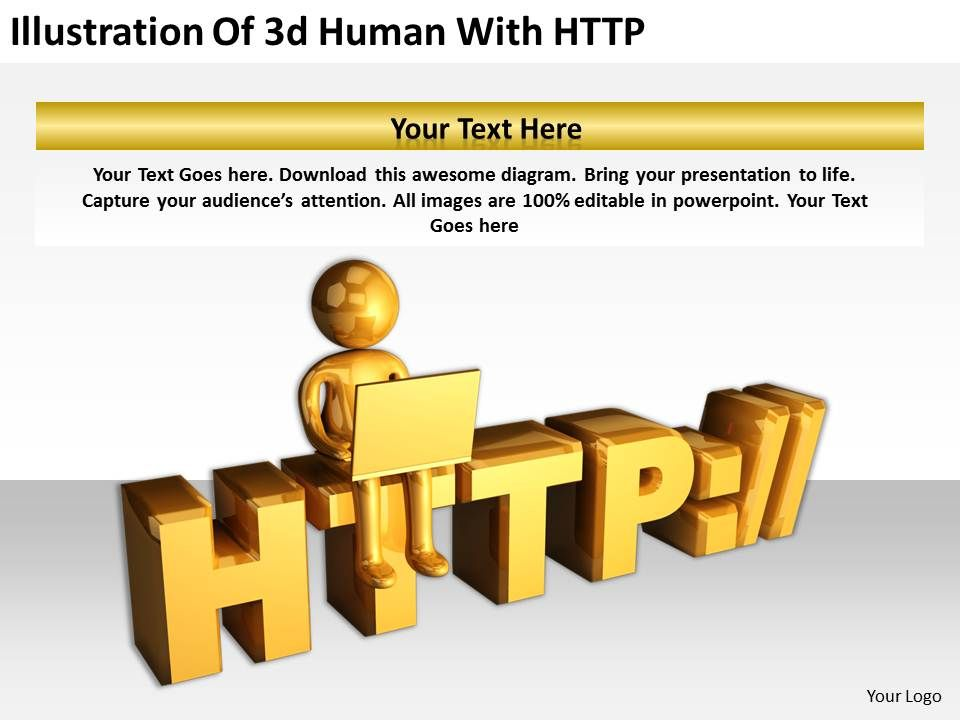 illustration_of_3d_human_with_http_ppt_graphics_icons_powerpoint_Slide01