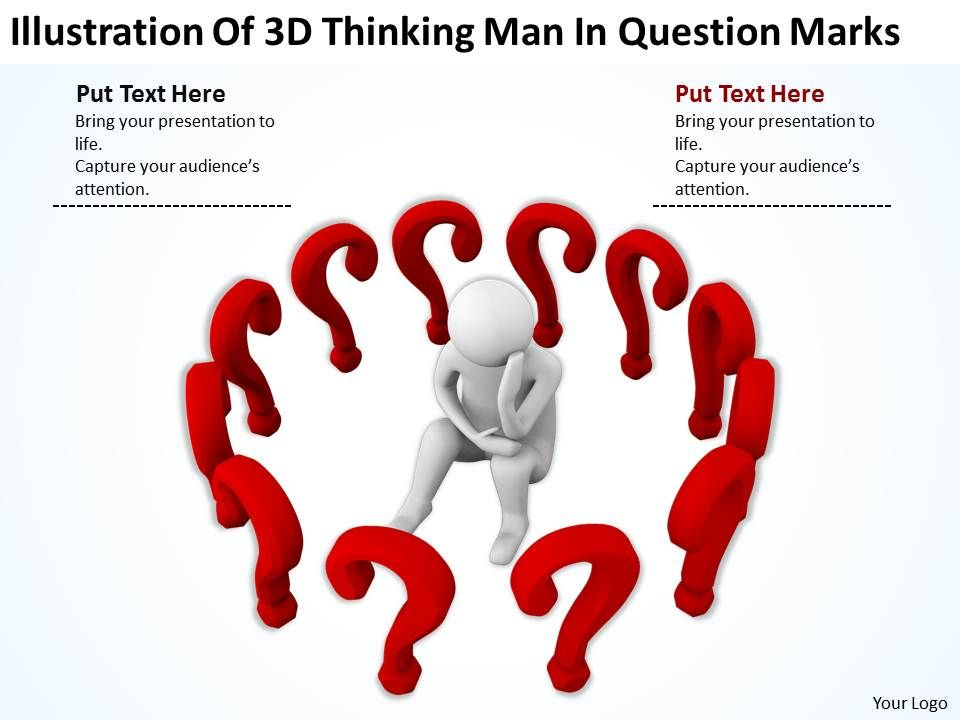 illustration_of_3d_thinking_man_in_question_marks_ppt_graphics_icons_powerpoint_Slide01