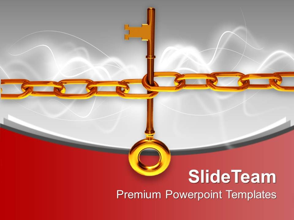illustration_of_a_large_gold_key_with_chain_powerpoint_templates_ppt_themes_and_graphics_0113_Slide01
