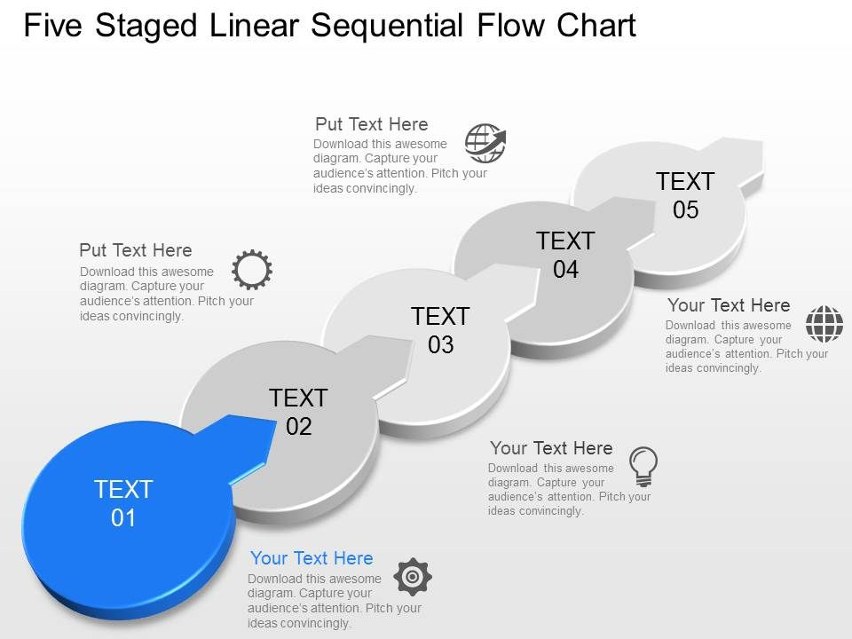 Im five staged linear sequential flow chart powerpoint template im five staged linear sequential flow chart powerpoint template powerpoint templates download ppt background template graphics presentation pronofoot35fo Image collections