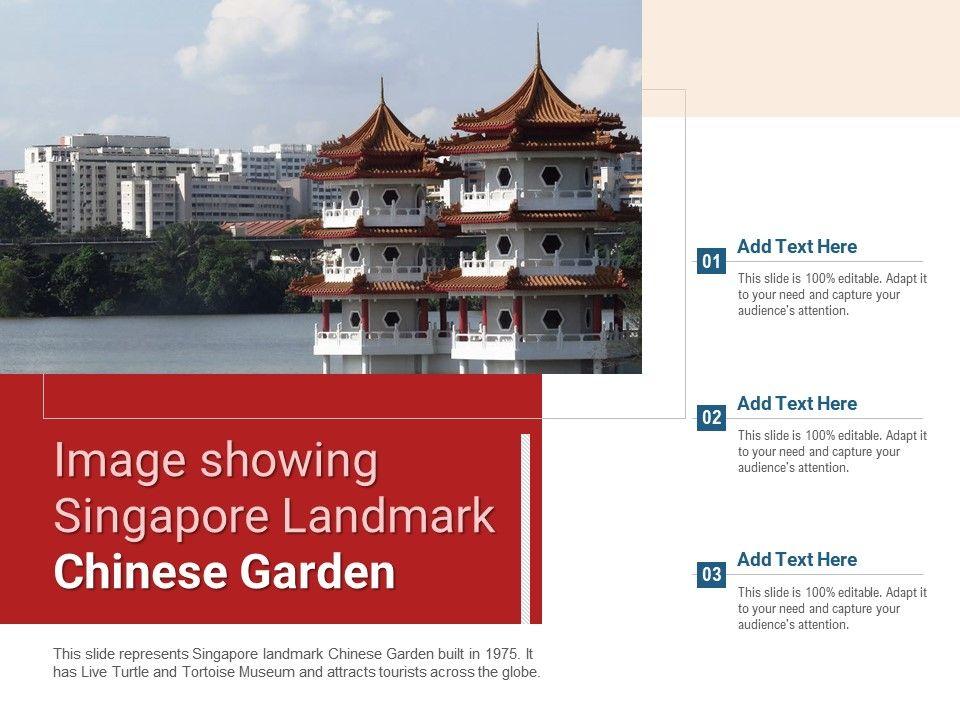 Image Showing Singapore Landmark Chinese Garden Powerpoint Presentation Ppt Template