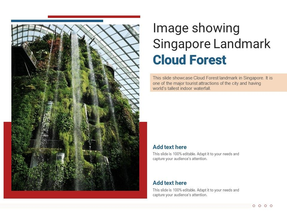 Image Showing Singapore Landmark Cloud Forest Powerpoint Presentation Ppt Template