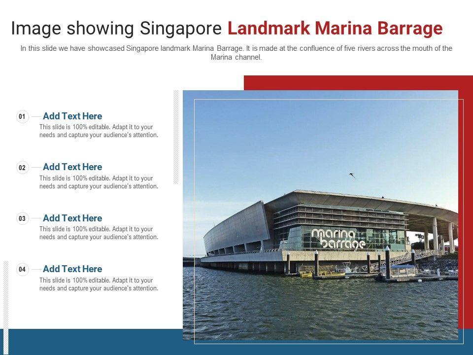 Image Showing Singapore Landmark Marina Barrage Powerpoint Presentation Ppt Template