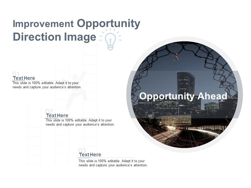 Improvement Opportunity Direction Image
