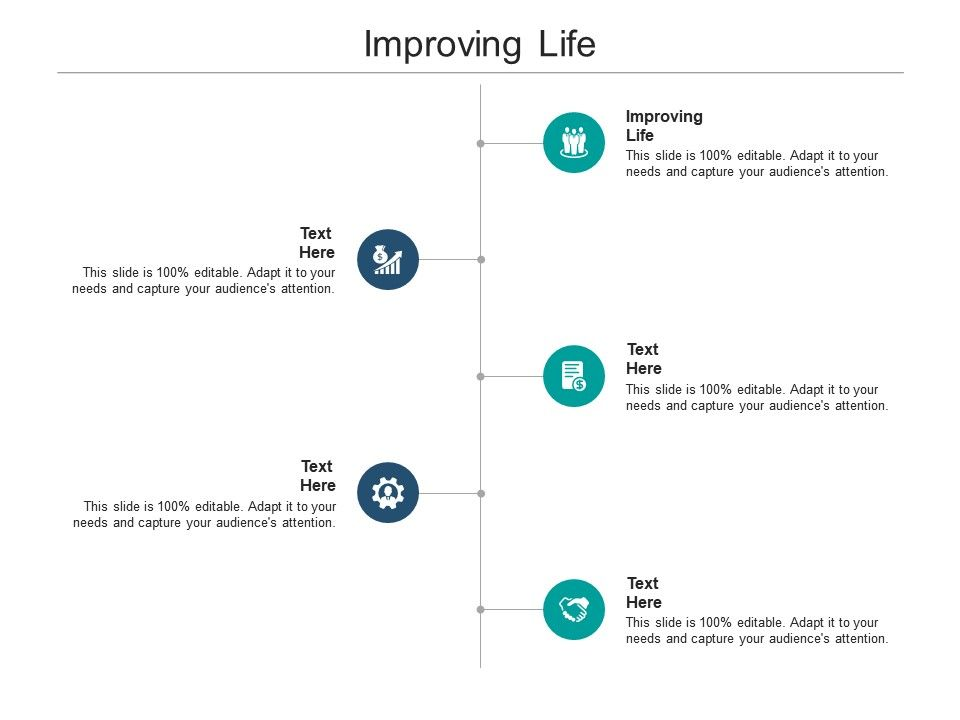 Improving Life Ppt Powerpoint Presentation Outline Infographic Template Cpb