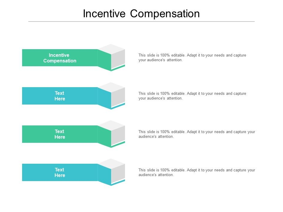 Incentive Compensation Ppt Powerpoint Presentation Professional Example Cpb