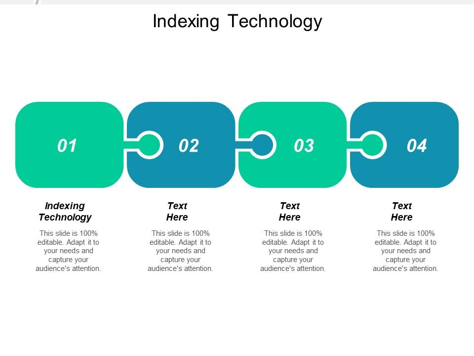 Indexing Technology Ppt Powerpoint Presentation Ideas