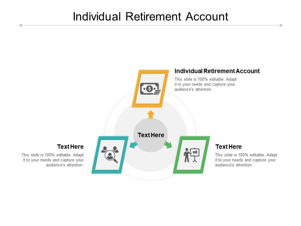 Individual Retirement Account Ppt Powerpoint Presentation Pictures Cpb