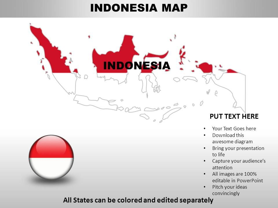 Indonesia Country Powerpoint Maps Powerpoint Presentation Images Templates Ppt Slide Templates For Presentation