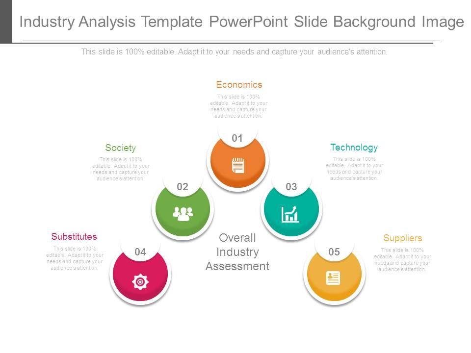 Industry Analysis Template Powerpoint Slide Background Image – Industry Analysis Template