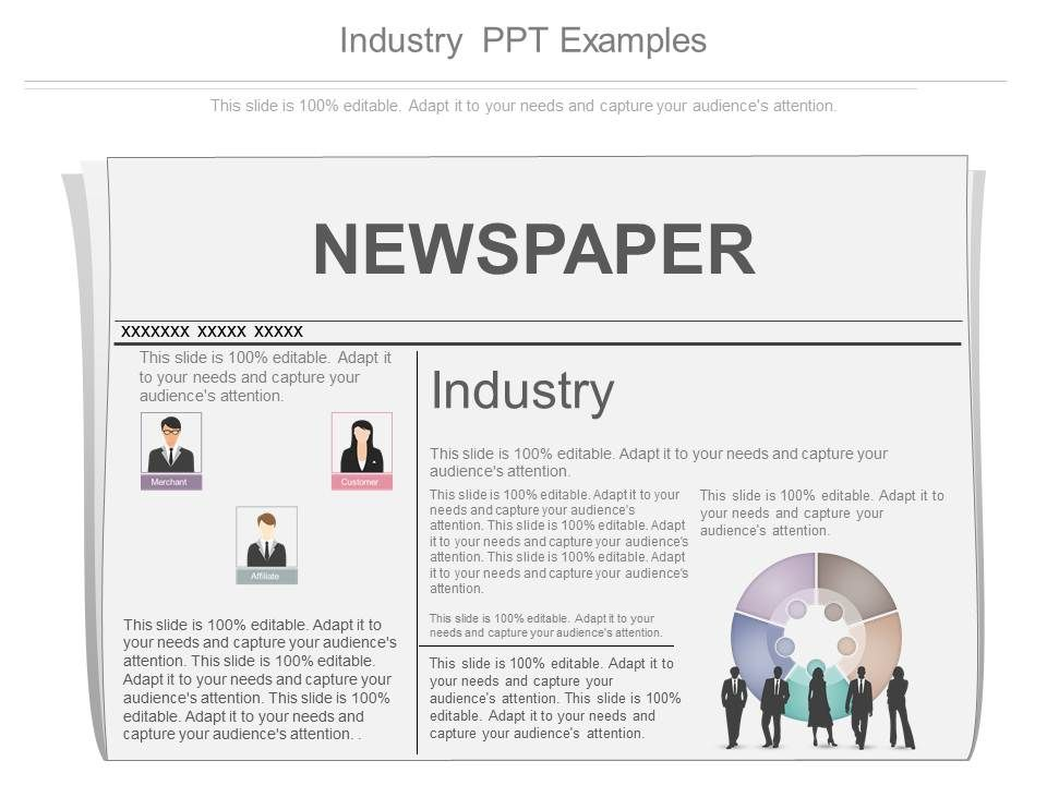 Industry Ppt Examples   PowerPoint Design Template   Sample