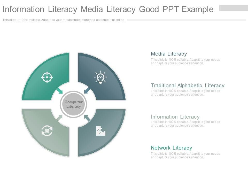 information literacy media literacy good ppt example powerpoint