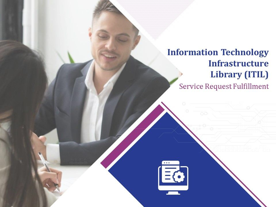 Information Technology Infrastructure Library ITIL Service Request Fulfillment Powerpoint Presentation Slides