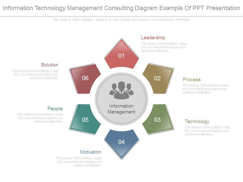 Information Technology Management Consulting Diagram Example Of Ppt