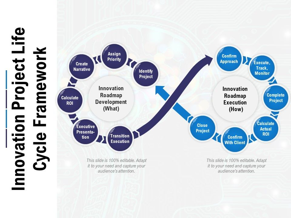 Innovation Project Life Cycle Framework