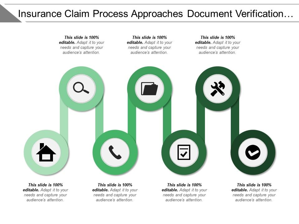 insurance_claim_process_approach_document_verification_approved_rejected_Slide01