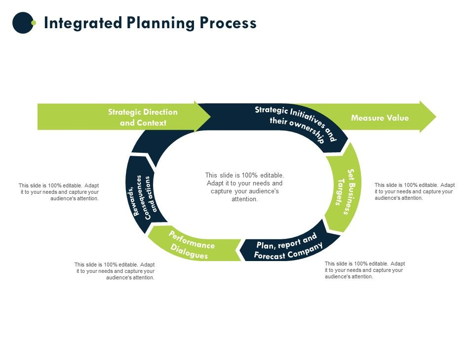 Integrated Planning Process Strategic Initiatives And Their Ownership Ppt Powerpoint Presentation