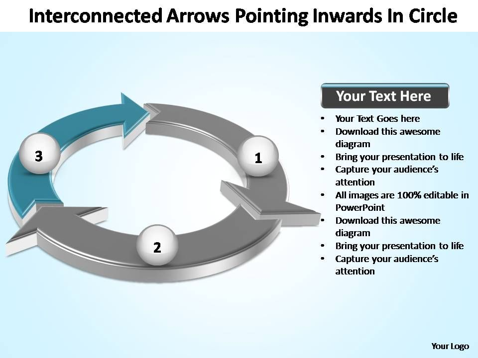 interconnected_arrows_pointing_inwards_in_circle_powerpoint_templates_Slide04