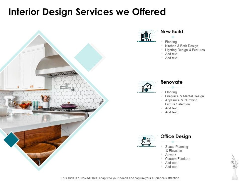 Interior Design Services We Offered Ppt Powerpoint Presentation Icon Introduction Powerpoint Design Template Sample Presentation Ppt Presentation Background Images