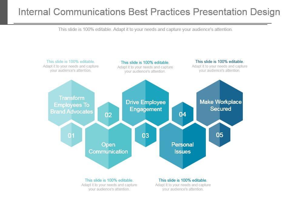 Internal Communications Best Practices Presentation Design Slide01 Slide02
