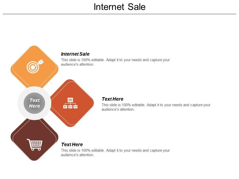 Internet Sale Ppt Powerpoint Presentation Icon Background Cpb