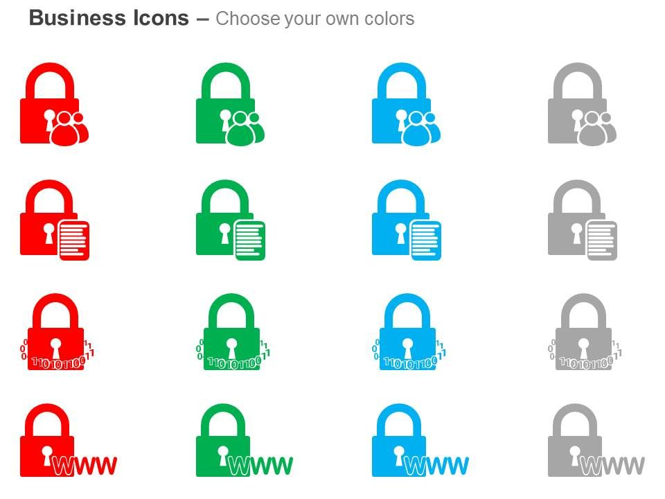 internet security system techniques ppt icons graphics, Powerpoint templates