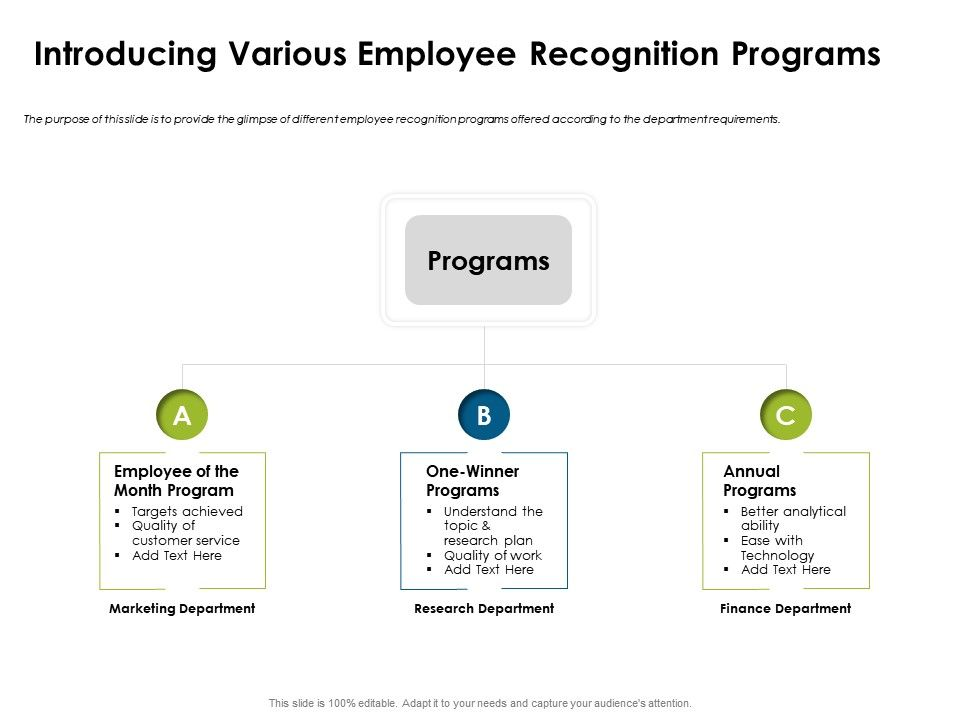 Introducing Various Employee Recognition Research Ppt Powerpoint Presentation Styles Outfit