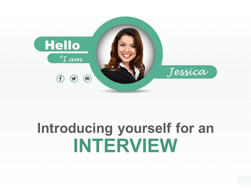 template for introducing yourself - introducing yourself and your capabilities powerpoint