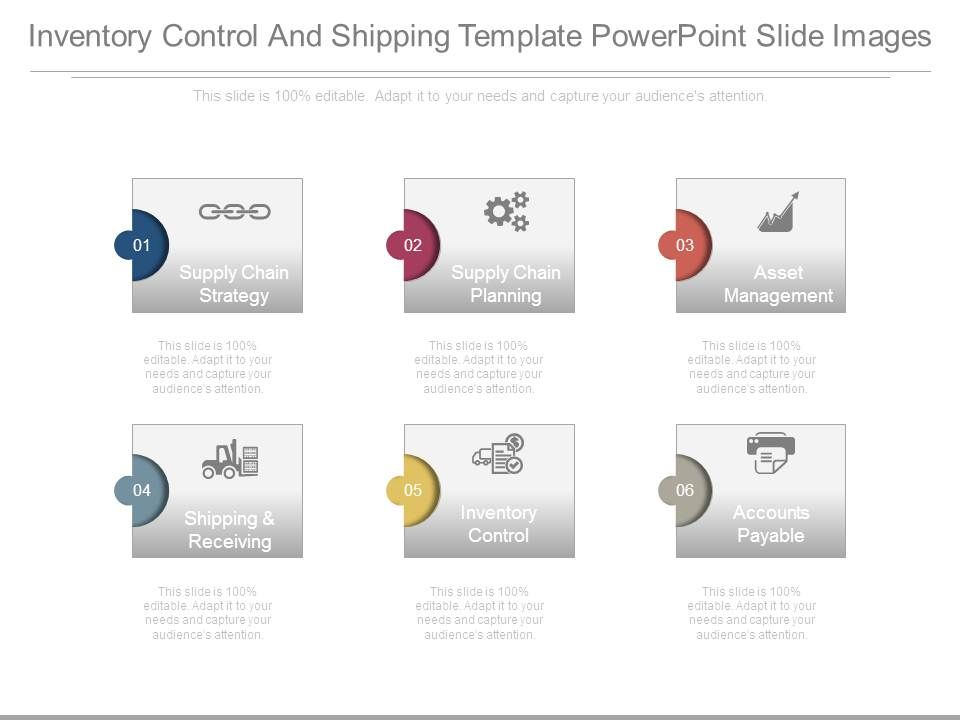 inventory_control_and_shipping_template_powerpoint_slide_images_slide01 inventory_control_and_shipping_template_powerpoint_slide_images_slide02