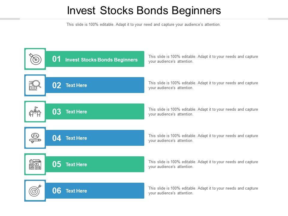 Invest Stocks Bonds Beginners Ppt Powerpoint Presentation Inspiration Icon Cpb