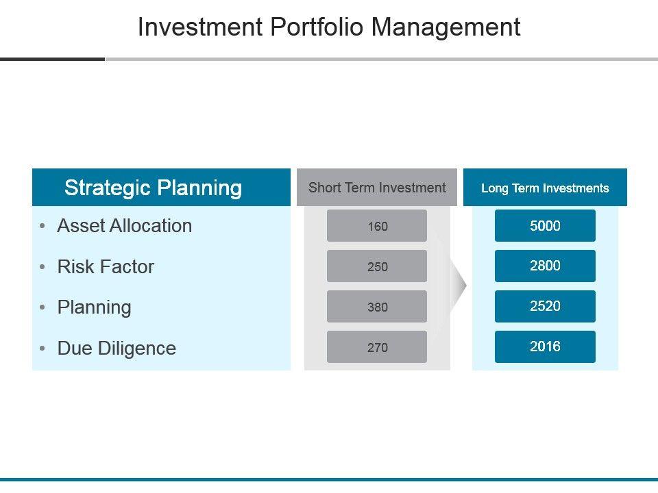 investment portfolio management powerpoint slide deck samples