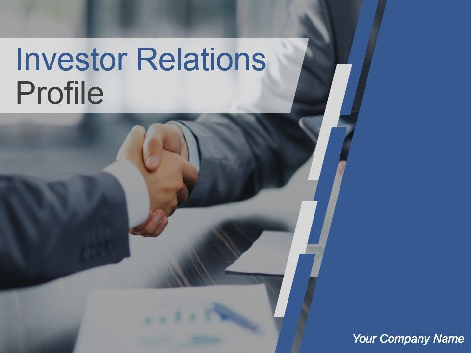 investor relations profile powerpoint presentation slides, Investor Relations Presentation Template, Presentation templates