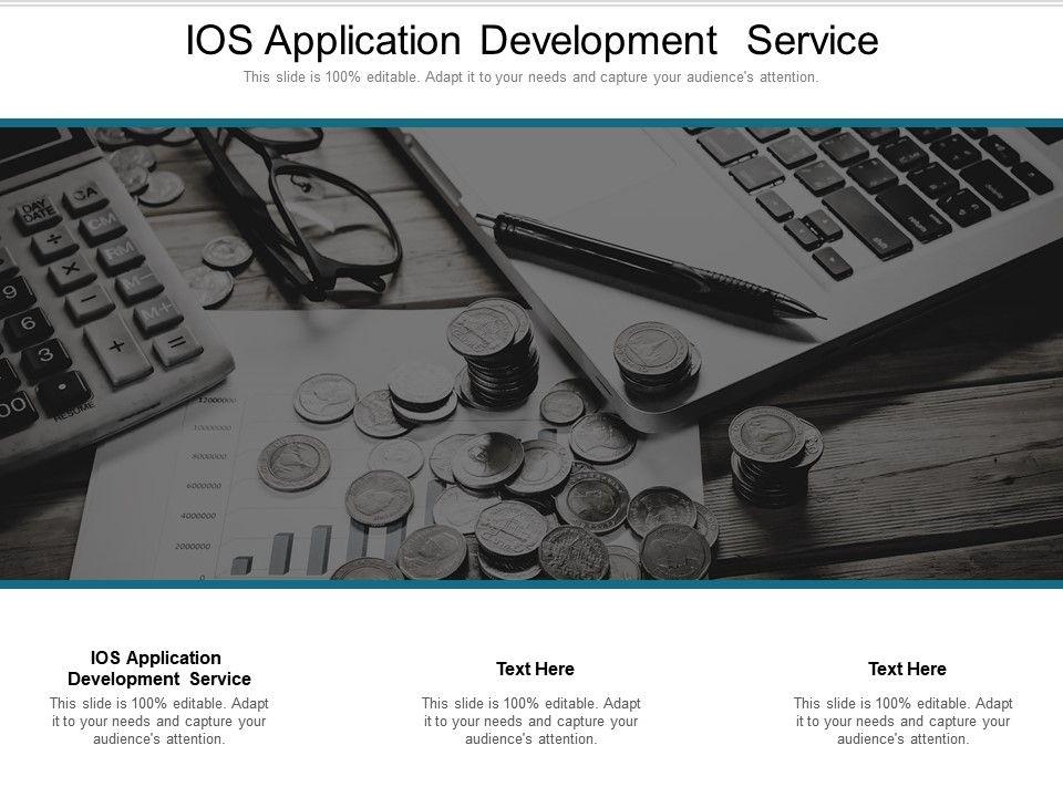 IOS Application Development Service Ppt Powerpoint Presentation Portfolio Gallery Cpb