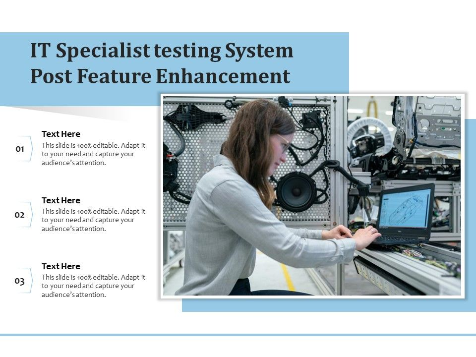 IT Specialist Testing System Post Feature Enhancement