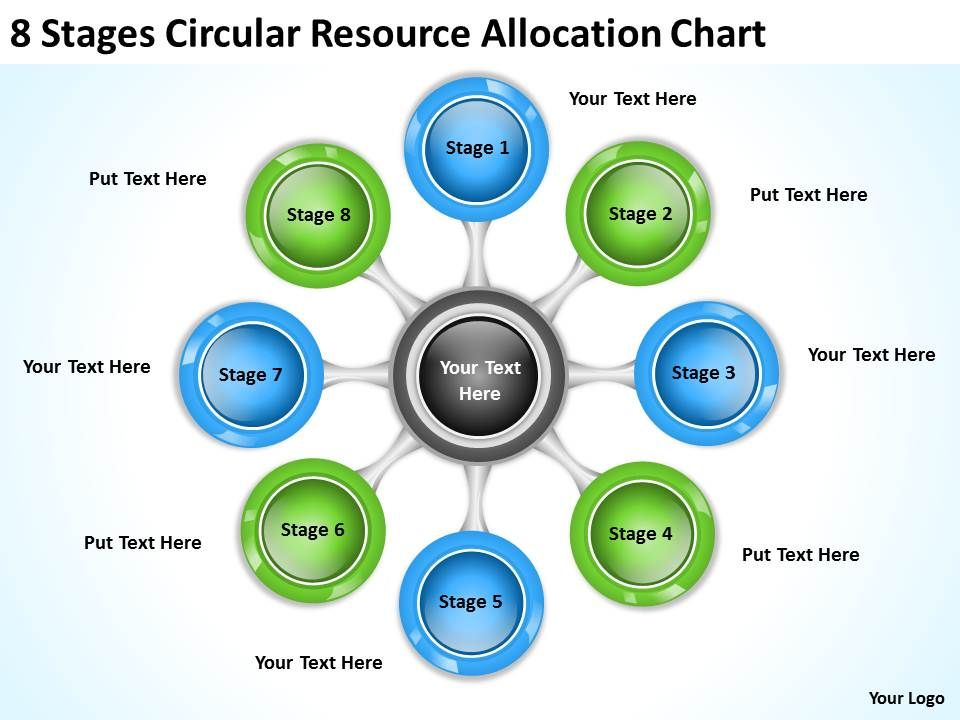 It Strategy Consulting Resource Allocation Chart Powerpoint