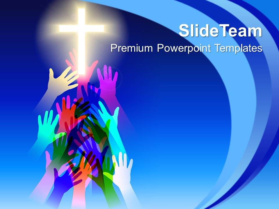 Jesus Christ Bible Powerpoint Templates Salvation Religion