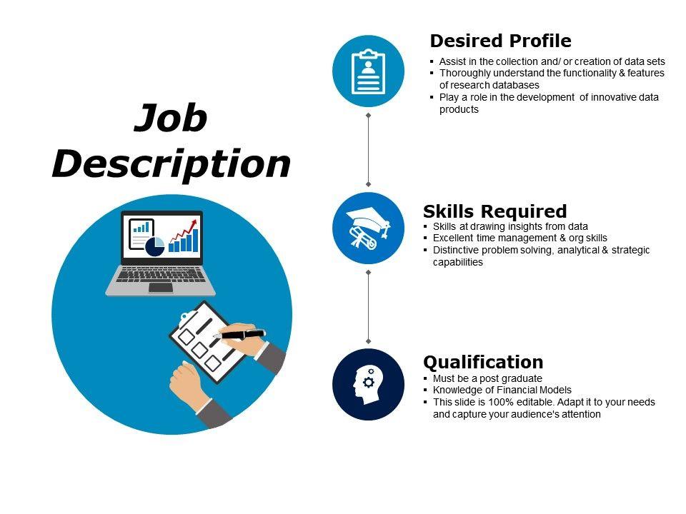 Job Description Powerpoint Slide Presentation Sample