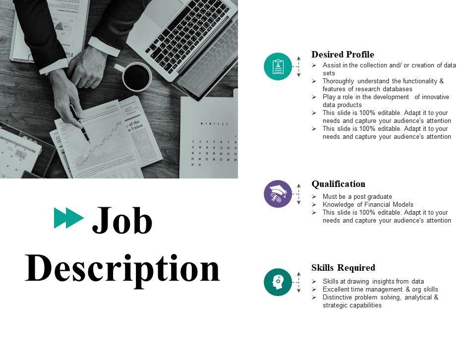Job Description Ppt File Layout Ideas Powerpoint Slide