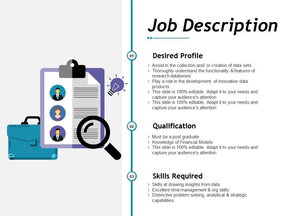 Job Description Ppt File Maker Powerpoint Presentation