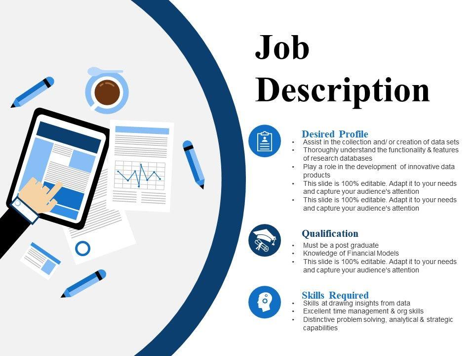 Job Description Ppt Slide Powerpoint Presentation Images
