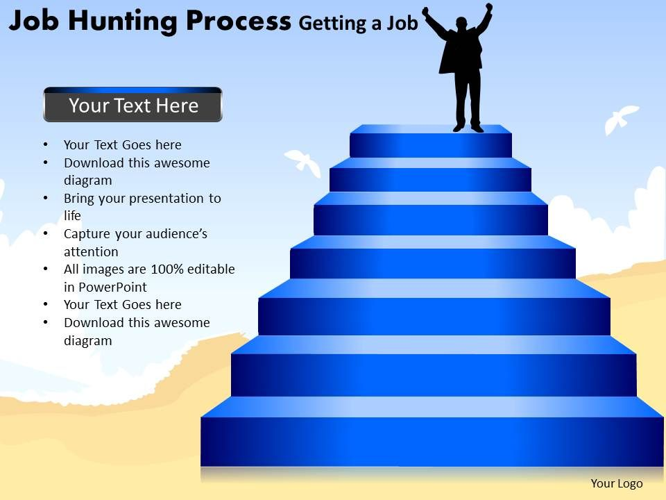 Job hunting process getting a job powerpoint slides and ppt jobhuntingprocessgettingajobpowerpointslidesandppttemplatesdbslide01 toneelgroepblik Image collections