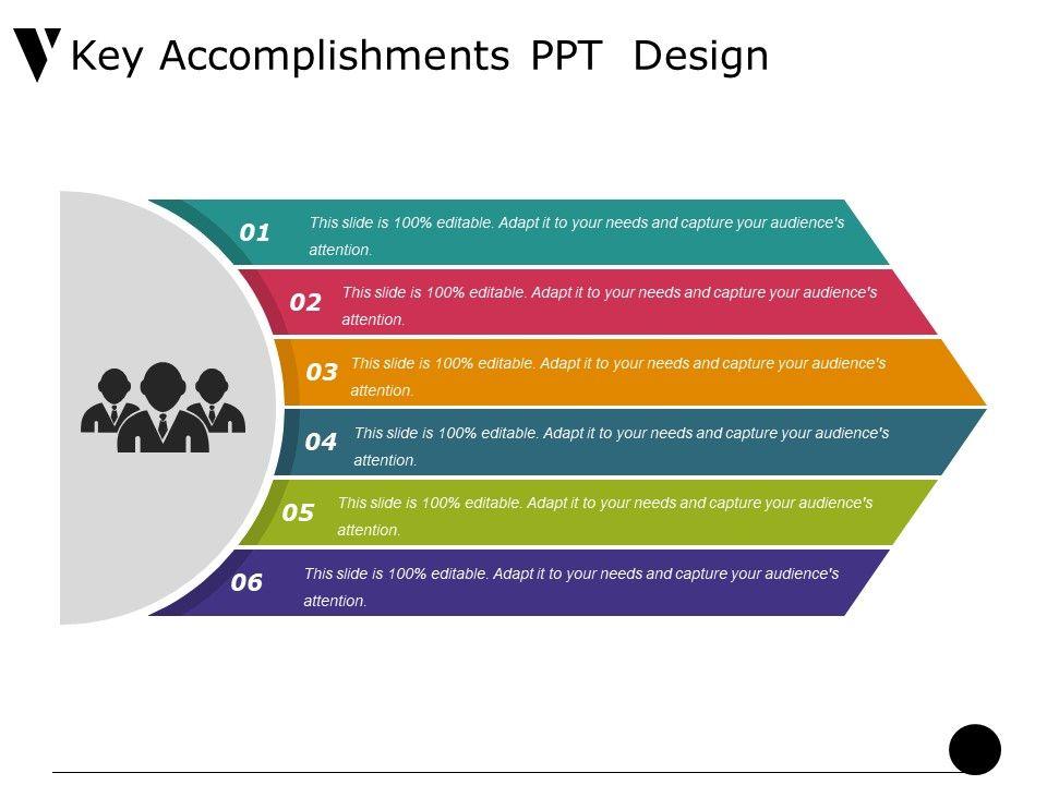 key accomplishments ppt design
