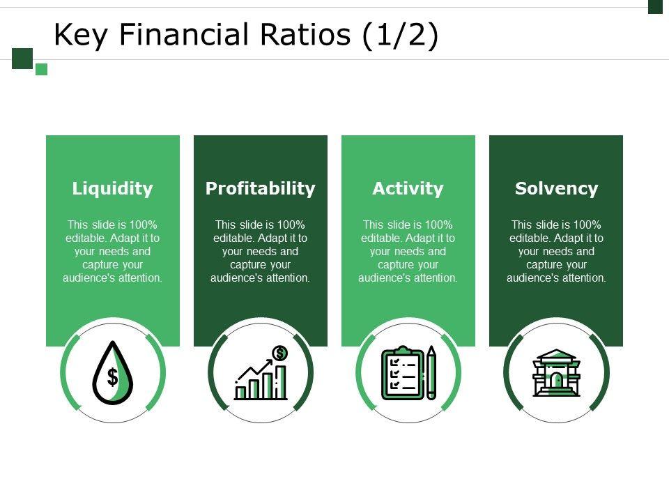Key Financial Ratios Template 2 Powerpoint Slide Rules Templates Powerpoint Presentation Slides Template Ppt Slides Presentation Graphics