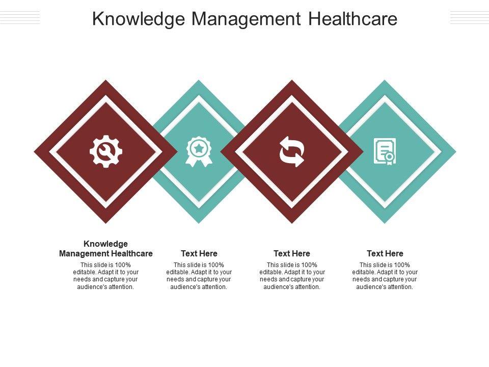 Knowledge Management Healthcare Ppt Powerpoint Presentation Show Deck Cpb