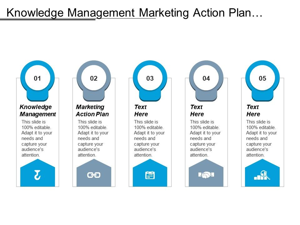 Knowledge Management Marketing Action Plan Quantitative Risk ...