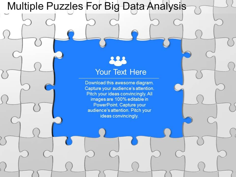 Ku multiple puzzles for big data analysis powerpoint template kumultiplepuzzlesforbigdataanalysispowerpointtemplateslide01 kumultiplepuzzlesforbigdataanalysispowerpointtemplateslide02 toneelgroepblik Choice Image